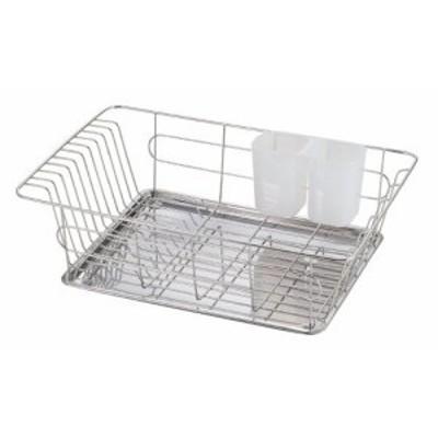 パール金属 食器 水切り かご ステンレス シンプル・ウェア HW-7331