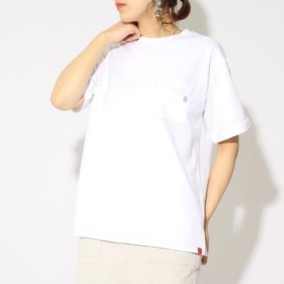 ユニバーサルオーバーオール UNIVERSAL OVERALL 別注 配色ステッチTシャツ U2013232IN