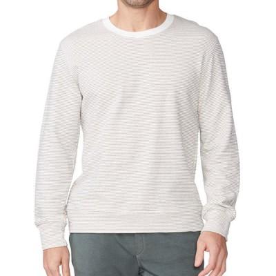 モンロー メンズ ニット・セーター アウター Men's Pinstripe Crewneck Sweatshirt