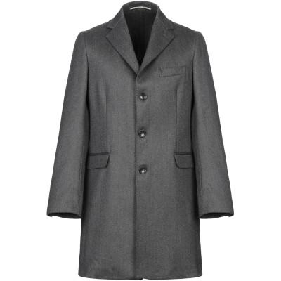 EXIBIT コート 鉛色 46 バージンウール 100% コート