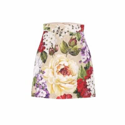 ドルチェandガッバーナ Dolce and Gabbana レディース ひざ丈スカート ペンシルスカート スカート Floral brocade pencil skirt Fiori Be