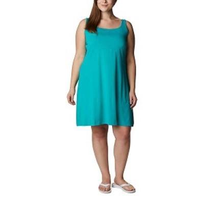 コロンビア レディース ワンピース トップス Columbia Women's Freezer III Dress Tropic Water
