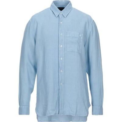 ベルスタッフ BELSTAFF メンズ シャツ トップス linen shirt Sky blue