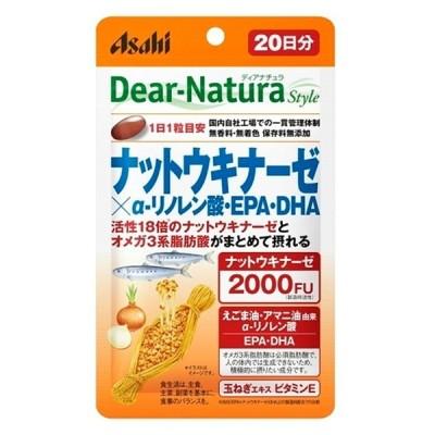 アサヒグループ食品 DearーNatura Style ナットウキナーゼ×アルファリノレン酸20日