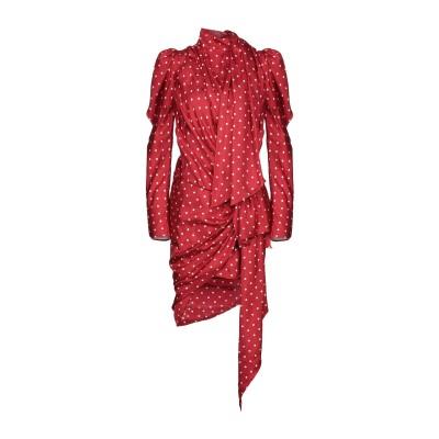 アレクサンドル・ボーティエ ALEXANDRE VAUTHIER ミニワンピース&ドレス レッド 36 シルク 100% ミニワンピース&ドレス