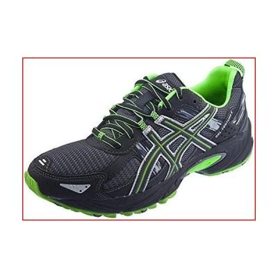 ASICS Men's Gel Venture 5 Trail Running Shoe, (11.5 D(M) US, Castle Rock/Black/Green)【並行輸入品】