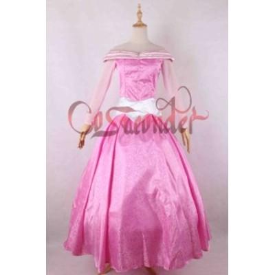 高品質 高級コスプレ衣装 眠れる森の美女 風 オーロラ姫 タイプ オーダーメイド ドレス Sleeping Beauty Princess Aurora Fancy Dress