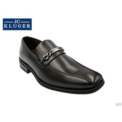 JC KLUGER ジェイシークルーガー メンズ ビジネスシューズ スリッポン JC-28 JC 28 靴