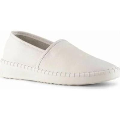 Cougar レディーススニーカー Cougar Chico Slip On Sneaker White Napoli Leather