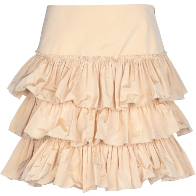 ブルーガール ブルマリン BLUGIRL BLUMARINE ひざ丈スカート サンド 38 ポリエステル 100% ひざ丈スカート