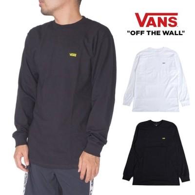 ヴァンズ バンズ VANS 長袖Tシャツ ロンT メンズ レディース S M L XL XXL LL 2L 3Lサイズ 大きいサイズ USモデル ホワイト ブラック 白 黒 ロゴ プリント スト