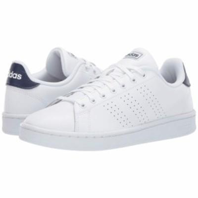アディダス adidas メンズ スニーカー シューズ・靴 Advantage Footwear White/Footwear White/Dark Blue