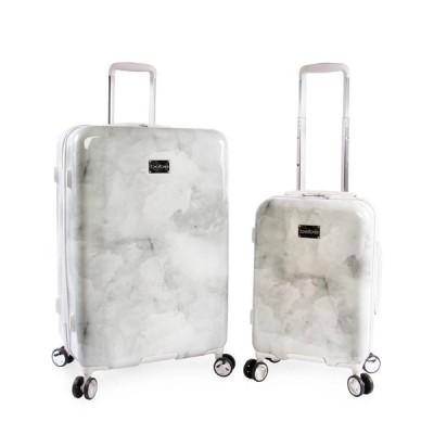 ベベ bebe ユニセックス スーツケース・キャリーバッグ バッグ Lilah 2-Piece Luggage Set Silver Marble