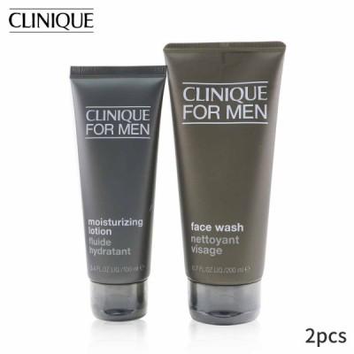 クリニーク セット&コフレ Clinique ギフトセット Men Cleanser + Hydrate 2-Pieces Set: Face Wash 200ml Moisturizing Lotion 100ml 2pcs
