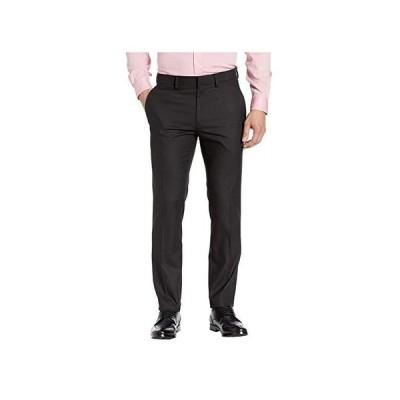 ケネスコール Stretch Shadow Check Slim Fit Dress Pants メンズ パンツ ズボン Black
