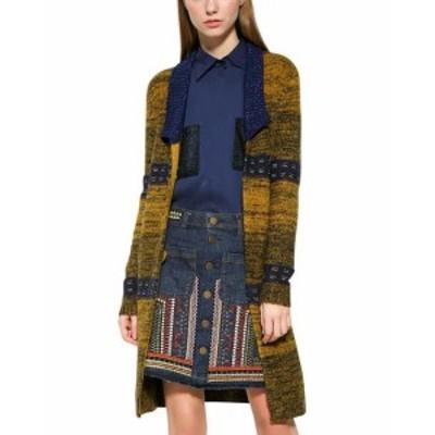 Desigual デシグアル ファッション 衣類 Desigual Long Sleeves Open Front Cardigan M