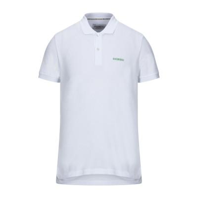 ビッケンバーグ BIKKEMBERGS ポロシャツ ホワイト XXL コットン 100% ポロシャツ