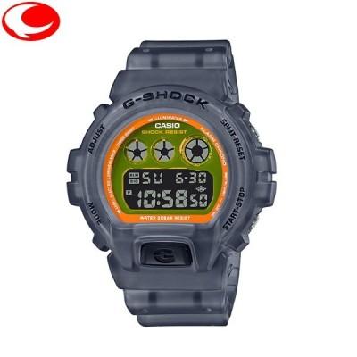 (今ならポイント31倍!)カシオ CASIO G-SHOCK DW-6900LS-1JF メンズ ユニセックス 腕時計 カラースケルトンシリーズ 【20年7月30日発売】