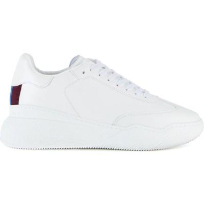 ステラ マッカートニー Stella McCartney レディース スニーカー シューズ・靴 New Loop White Faux Leather Sneakers White