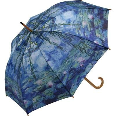 【名画木製ジャンプ傘】睡蓮(ゴッホ)