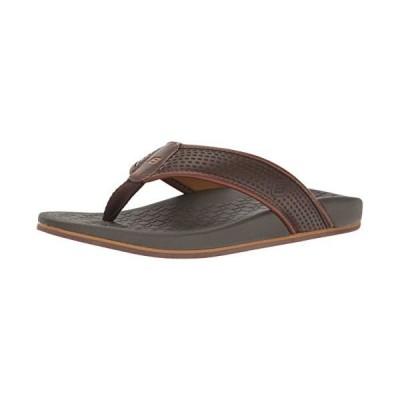 Skechers USA メンズ Pelem Emiro Flat Sandal, チョコレート, 12 M US(海外取寄せ品)