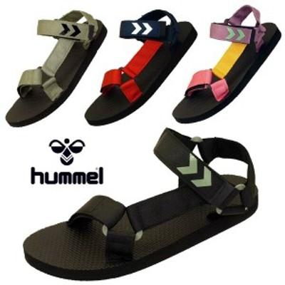 ヒュンメル HUMMEL STRAP SANDAL 211374 ストラップ サンダル 2001 3596 7995 8062 スポサン レディース/メンズ