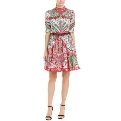 バーリコ ワンピース トップス レディース BURRYCO A-Line Dress multicolor print