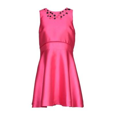 SOLOGIOIE ミニワンピース&ドレス フューシャ 46 ポリエステル 100% ミニワンピース&ドレス