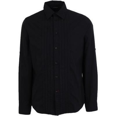 ゲス GUESS シャツ ブラック S コットン 100% シャツ