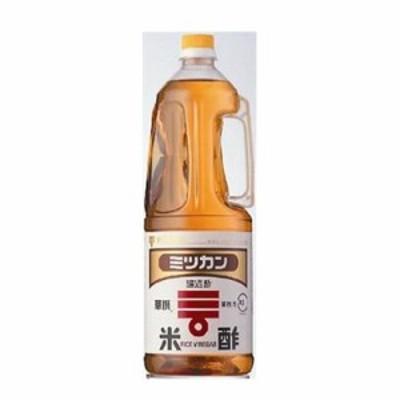 ミツカン)醸造酢 米酢 プラ 1.8L