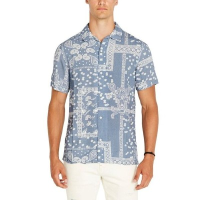 バッファロー・デイビッド・ビトン メンズ シャツ トップス Men's Safiv Paisley Shirt