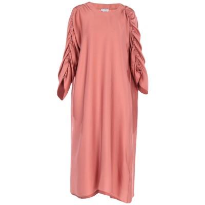 バランタイン BALLANTYNE 7分丈ワンピース・ドレス パステルピンク 40 シルク 93% / ポリウレタン 7% 7分丈ワンピース・ドレス