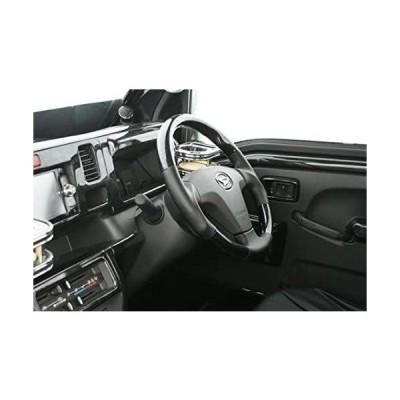 ハイゼットTジャンボ S500P系 ガングリップスポーツステアリング 黒ウッド調 90180303