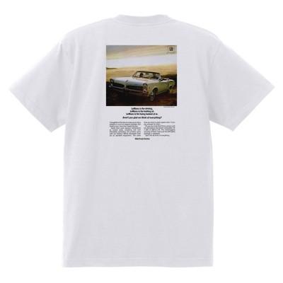 アドバタイジング ポンティアック 383 白 Tシャツ 黒地へ変更可能  1967 ルマン グランプリ gto ファイアバード アメ車