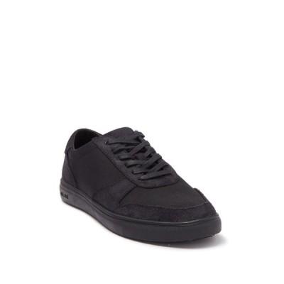 クラエ メンズ スニーカー シューズ Gregory Sneaker BLACK WAXED SUEDE