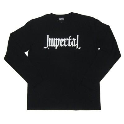 インペリアル/IMPERIAL LOGO BLACK (Mサイズ) ロングスリーブTシャツ
