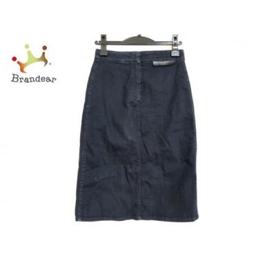ステラマッカートニー stellamccartney スカート サイズ26 S レディース ダークネイビー デニム   スペシャル特価 20201013