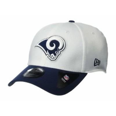 ニューエラ メンズ 帽子 アクセサリー NFL Team Classic 39THIRTY Flex Fit Cap - Los Angeles Rams White