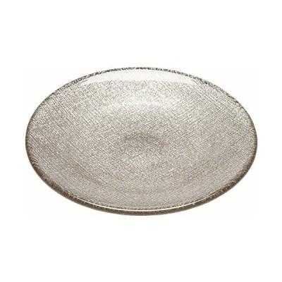 ヴェトロ・フェリーチェ 中皿 洋食器 プレート ジンジャー 14cm 幸せのガラス グリッター 323914B G006
