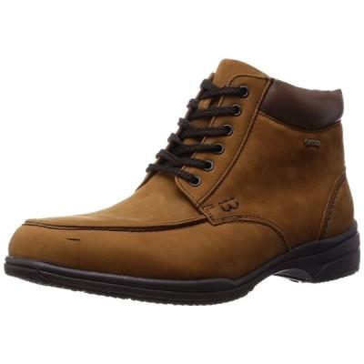 メンズ GORE-TEX ブーツ Uモカ madras Walk マドラスウォーク SPMW5711 ブラウン/ヌバック 4E ゴアテックス 防水 ビジネス シューズ 天然皮革 送料無料