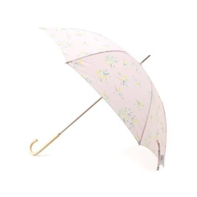 【ピンクアドベ/pink adobe】 <Wpc.>オリーブプリント長傘