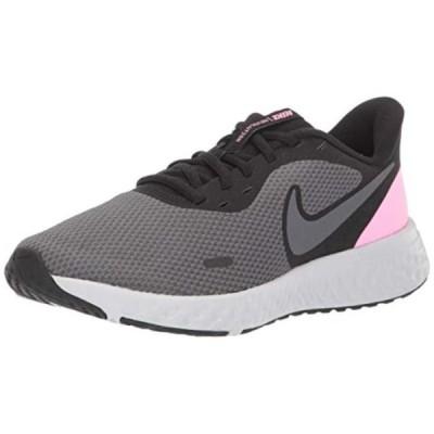 レディース 靴 スニーカー Nike Women's Revolution 5 Running Shoe Black/Psychic Pink-Dark Grey 10 Wide US