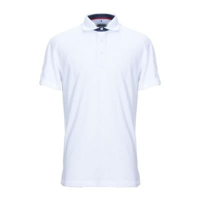 ヘンリー コットンズ HENRY COTTON'S ポロシャツ ホワイト M コットン 100% ポロシャツ