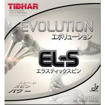 TIBHAR(ティバー) 卓球 ラバー エボリューション EL-S ブラック 2.1mm BT146962