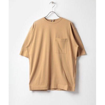 URBAN RESEARCH / URTECH 後ろZIPカットソー WOMEN トップス > Tシャツ/カットソー