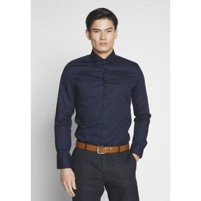 サイデンステッカー シャツ メンズ トップス BUSINESS KENT - Formal shirt - dark blue