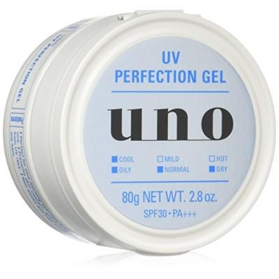 UNO(ウーノ) UVパーフェクションジェル オールインワン SPF30+ PA+++ 80g