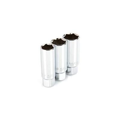 TEKTON 3/8 Inch Drive Spark Plug Socket Set, 3-Piece (5/8, 3/4, 13/16 in.) | SHD91003【海外正規品】