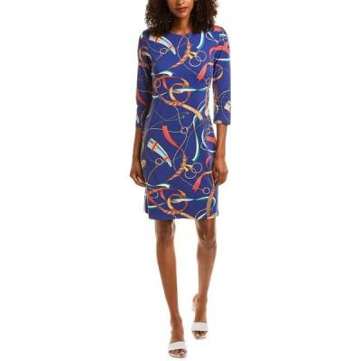 ジェーマクラフリン ワンピース トップス レディース J.McLaughlin Sophia Catalina Cloth Shift Dress navy & coral