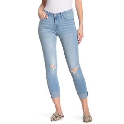 ヴィゴス レディース デニムパンツ ボトムス Marley Distressed Mid Rise Skinny Jeans LIGHT WASH